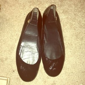 Authentic Tory Burch patent leather flats